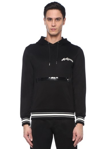 Alexander McQueen Sweatshirt Siyah